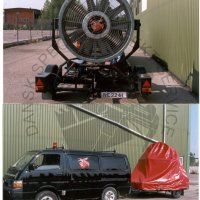 22kw 400v large electric windmachine